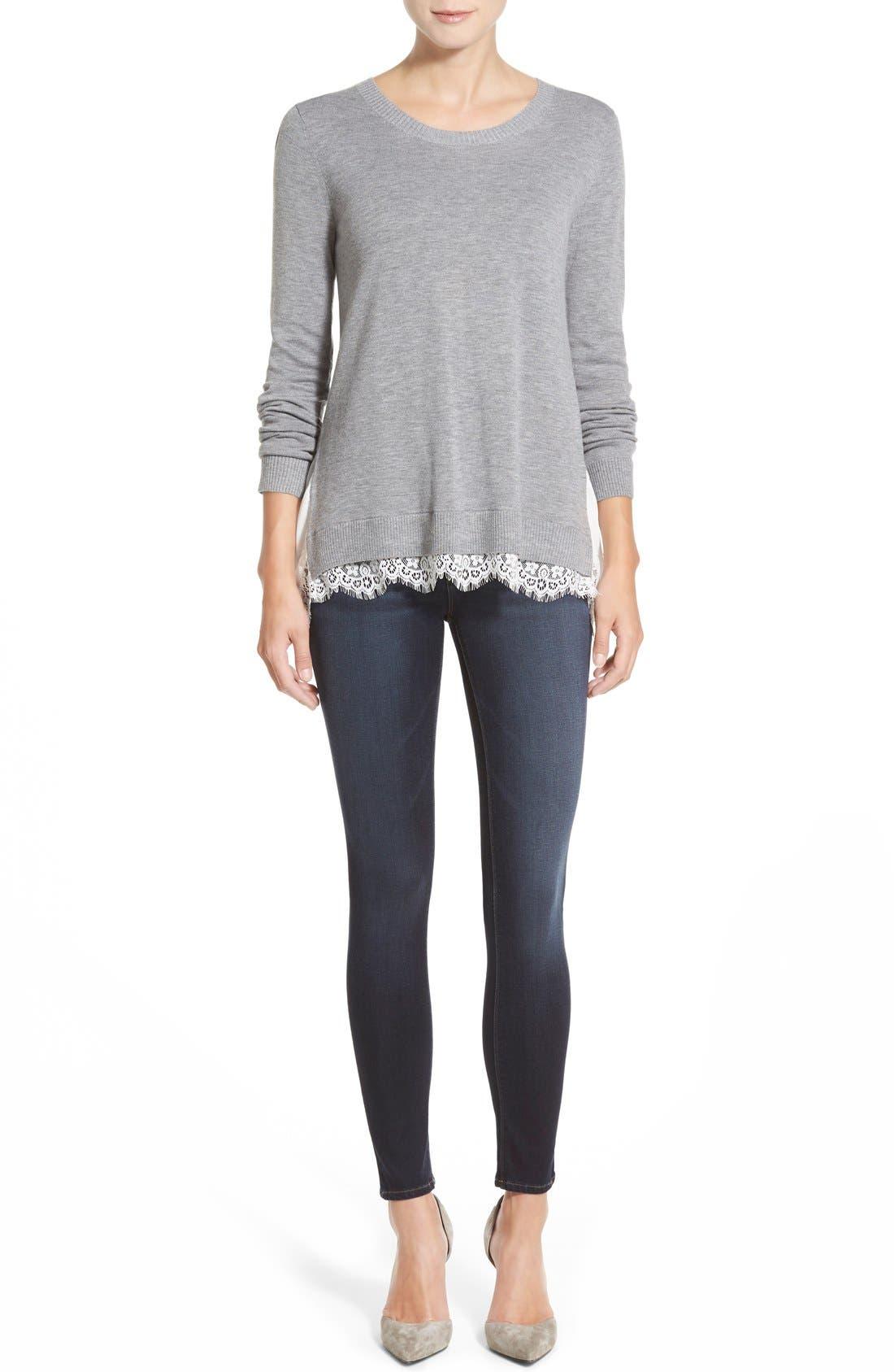Alternate Image 7  - DL1961 'Emma' Power Legging Jeans (Walton)