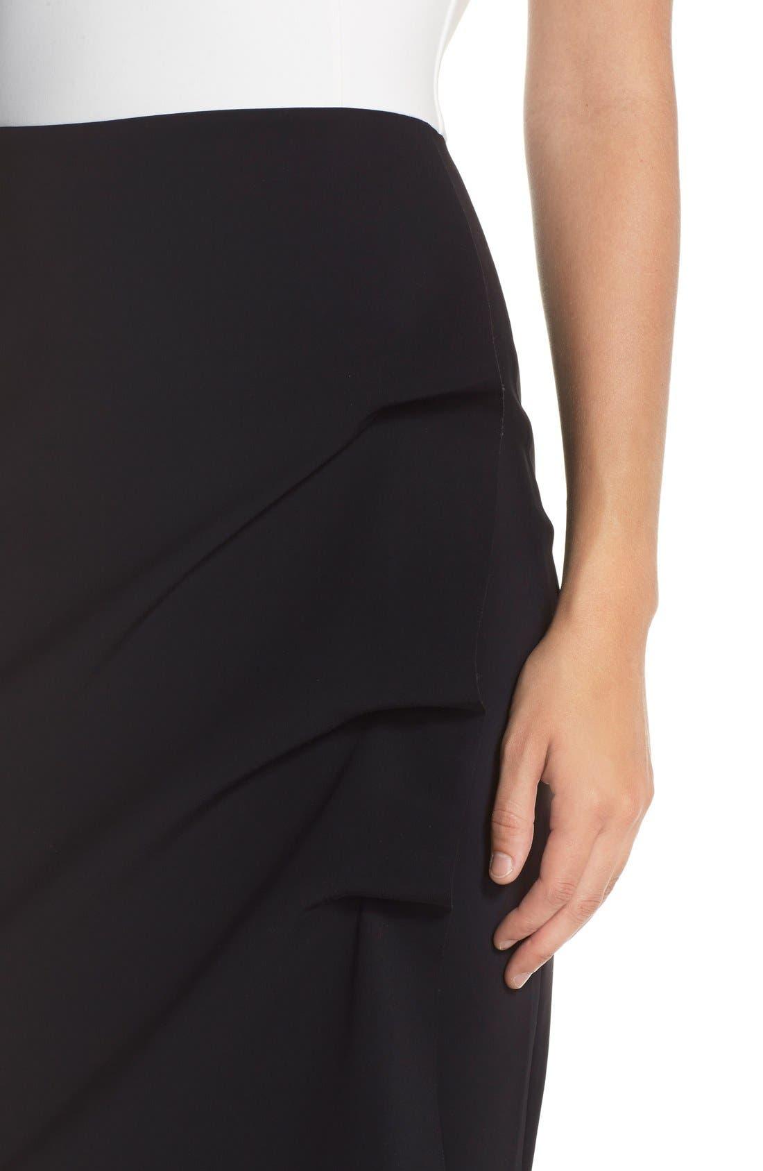 Alternate Image 4  - Chiara Boni La Petite Robe 'Melania' Off the ShoulderMermaid Gown