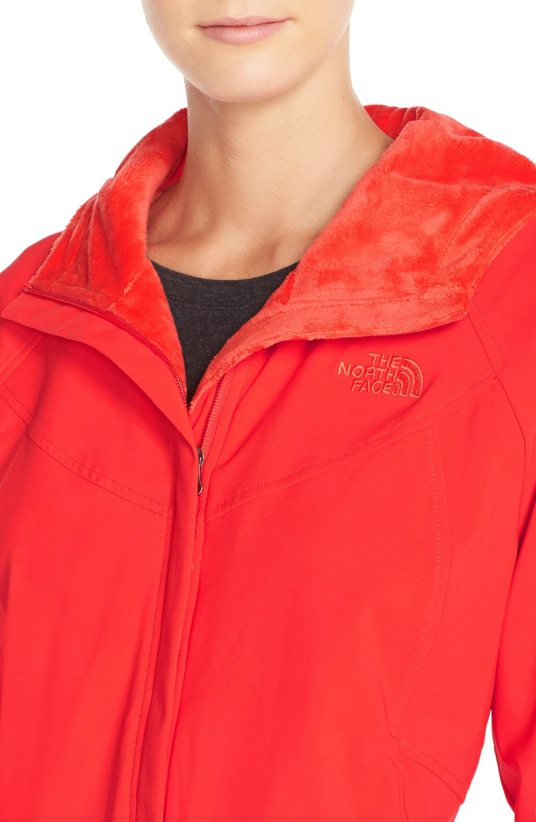 Alternate Image 4  - The North Face 'Maddie Raschel' Soft Shell Jacket