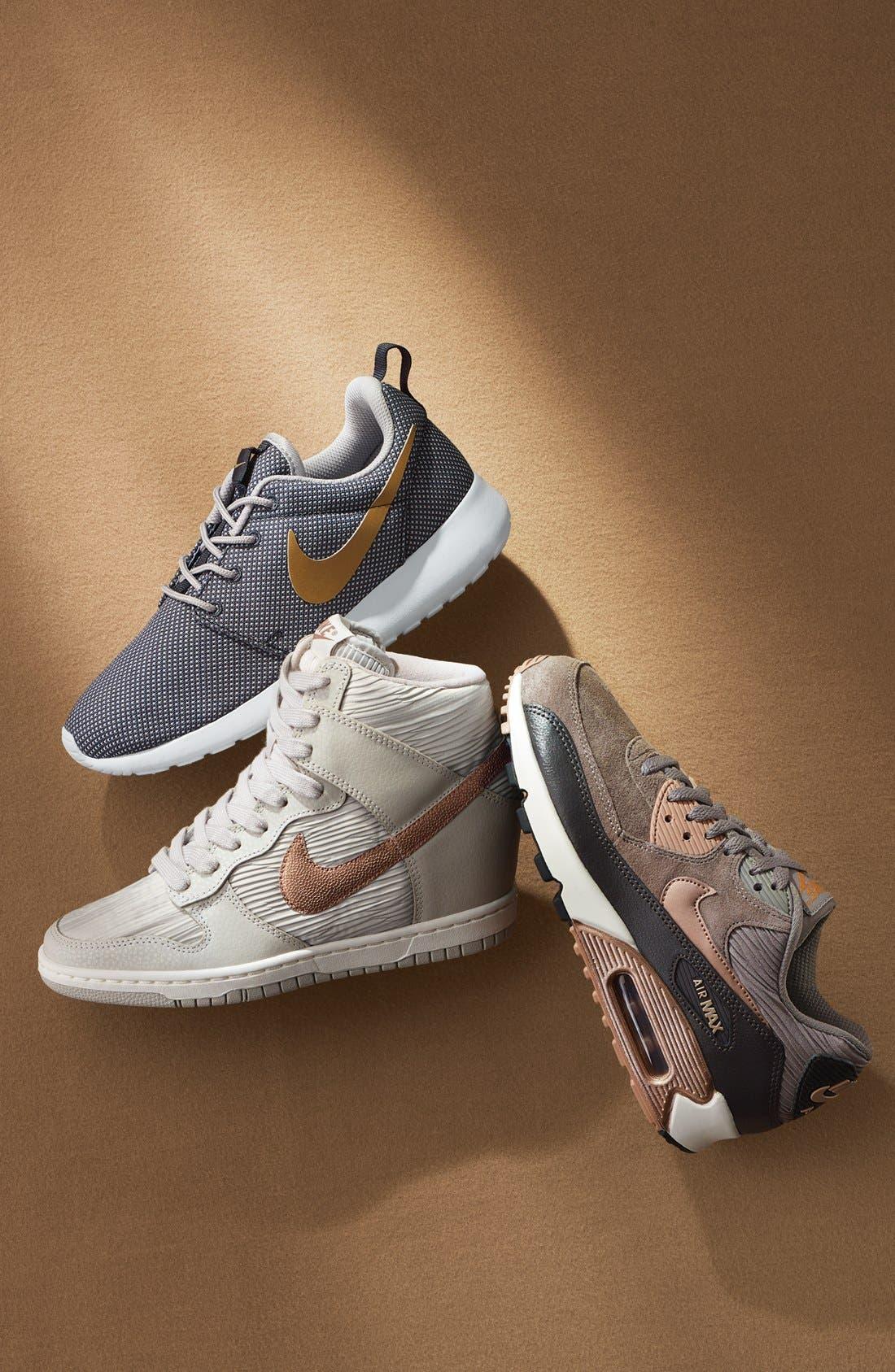 Alternate Image 6  - Nike 'Dunk Sky Hi' Wedge Sneaker (Women)
