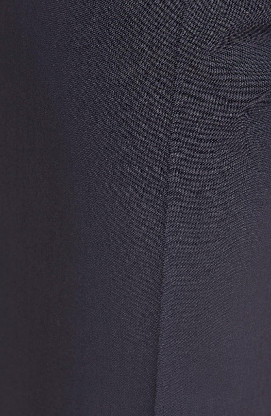 Alternate Image 5  - BOSS Tulea Bootcut Stretch Wool Suit Trousers (Regular & Petite)