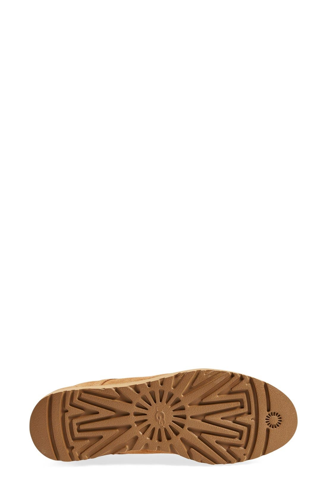 Bethany - Classic Slim<sup>™</sup> Water Resistant Chukka Boot,                             Alternate thumbnail 4, color,                             Chestnut Suede