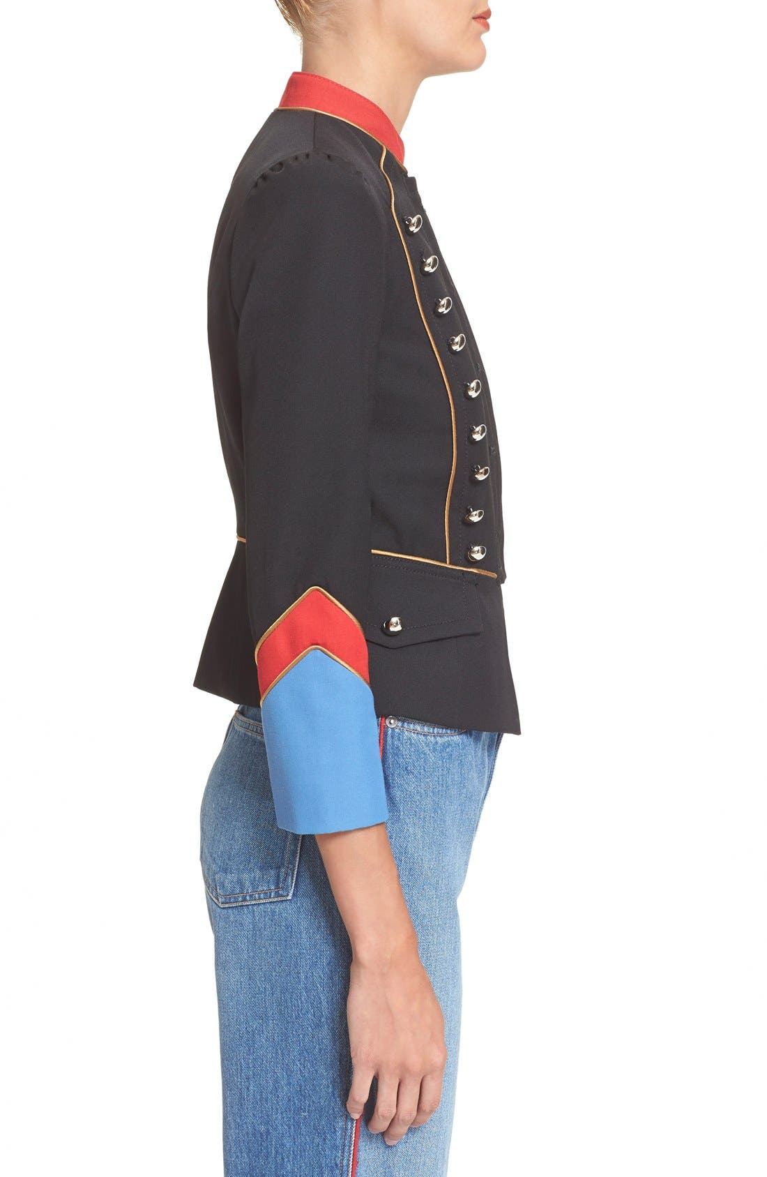 Alternate Image 3  - MARC BY MARC JACOBS Gabardine Military Jacket