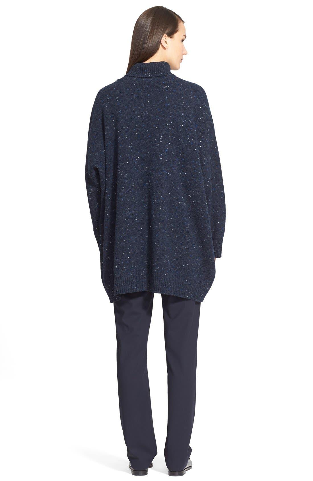 Alternate Image 2  - eskandar Lightweight Tweed Turtleneck Sweater