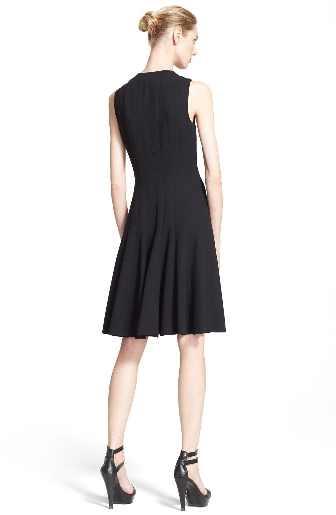 Alternate Image 2  - Akris Sleeveless Godet Pleat Dress