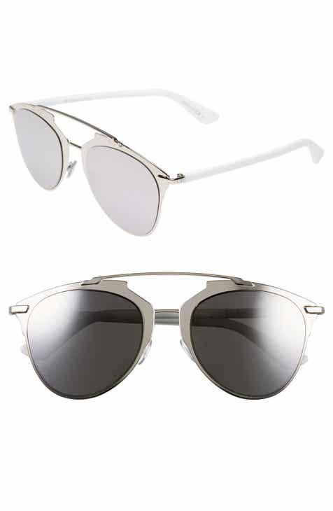 50e08e706fb Dior Reflected 52mm Brow Bar Sunglasses
