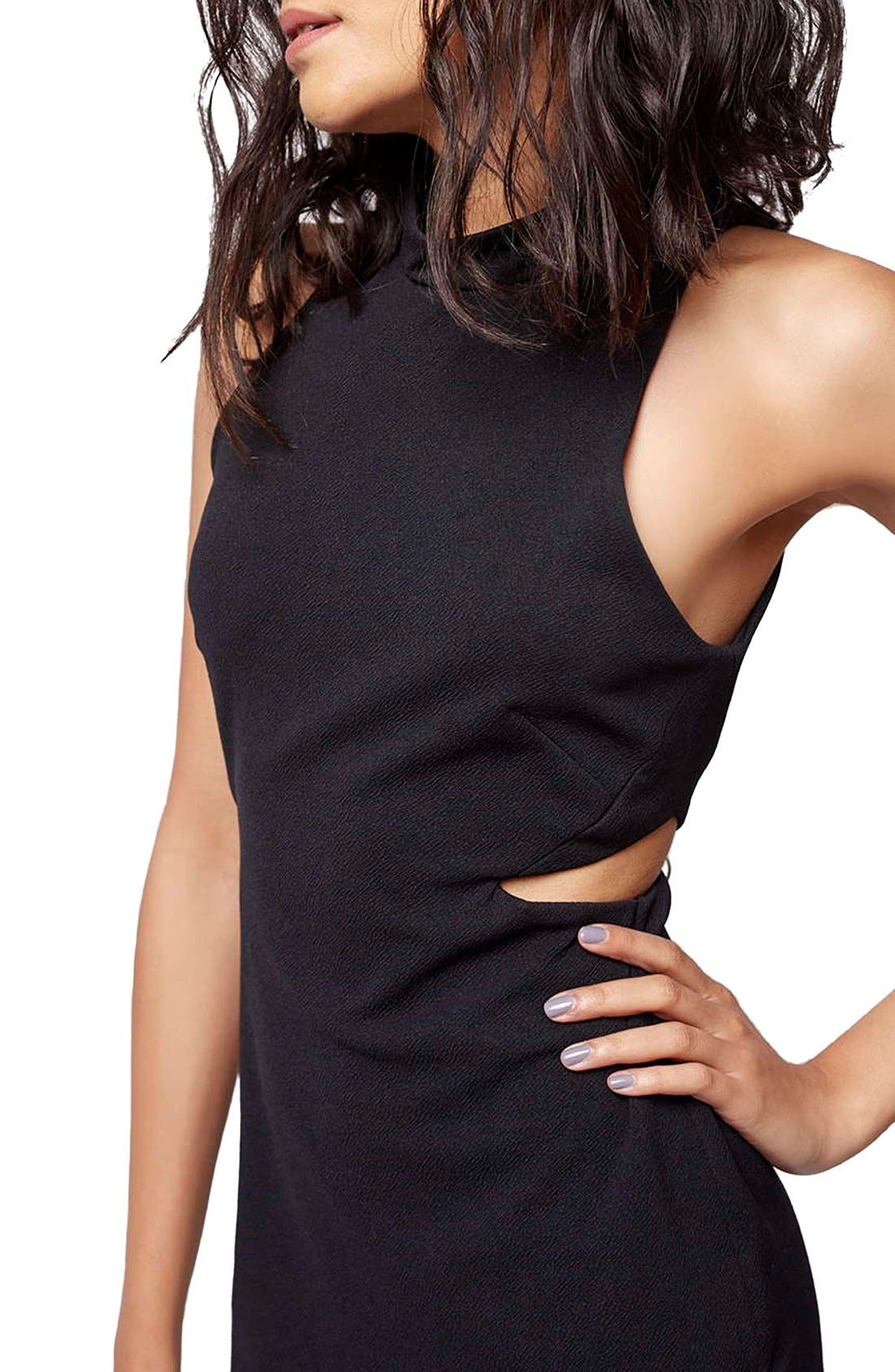 Alternate Image 5  - Topshop Cutout Body-Con Dress (Petite)
