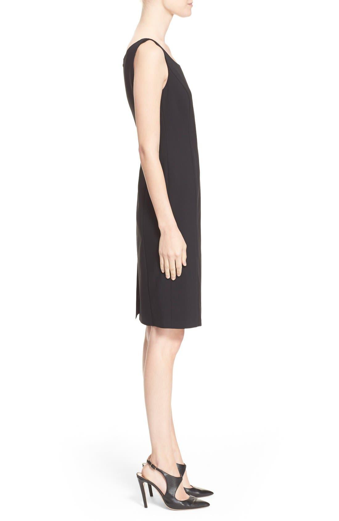 Alternate Image 5  - Armani Collezioni Featherweight Wool Dress