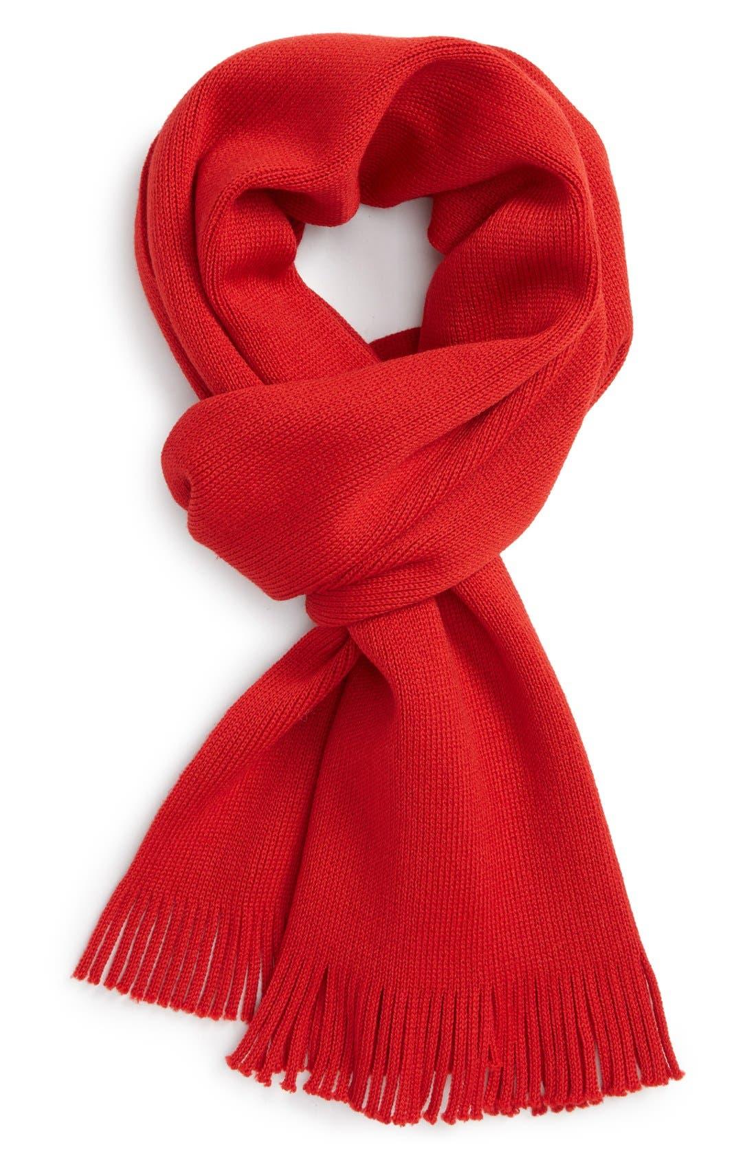 Alternate Image 1 Selected - BOSS HUGO BOSS 'Albas' Wool Scarf