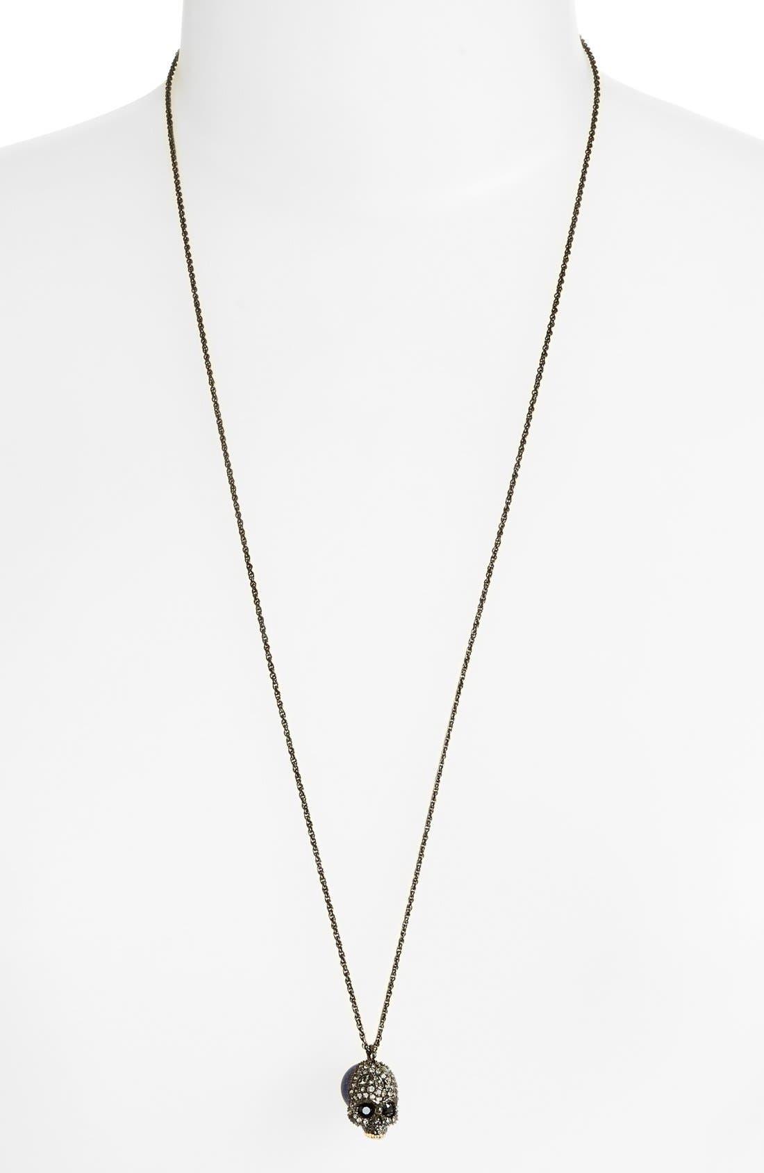 Alternate Image 2  - Alexis Bittar'Skull' Pendant Necklace