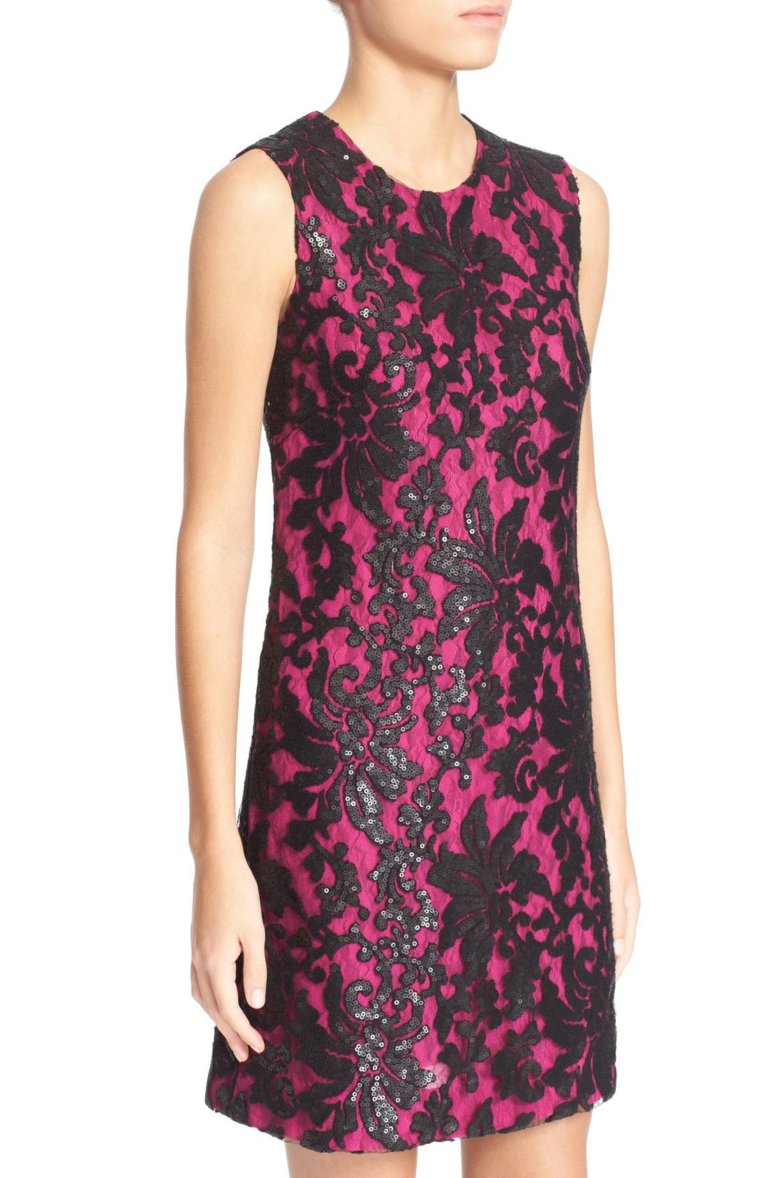 Alternate Image 4  - Diane von Furstenberg 'Kaleb' Embellished Lace Sheath Dress