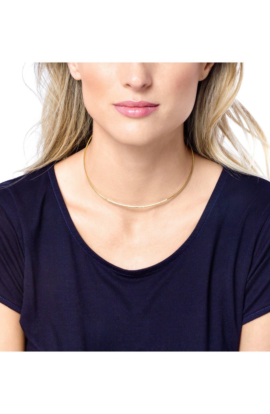 Alternate Image 4  - gorjana 'Petra' Pavé Choker Necklace