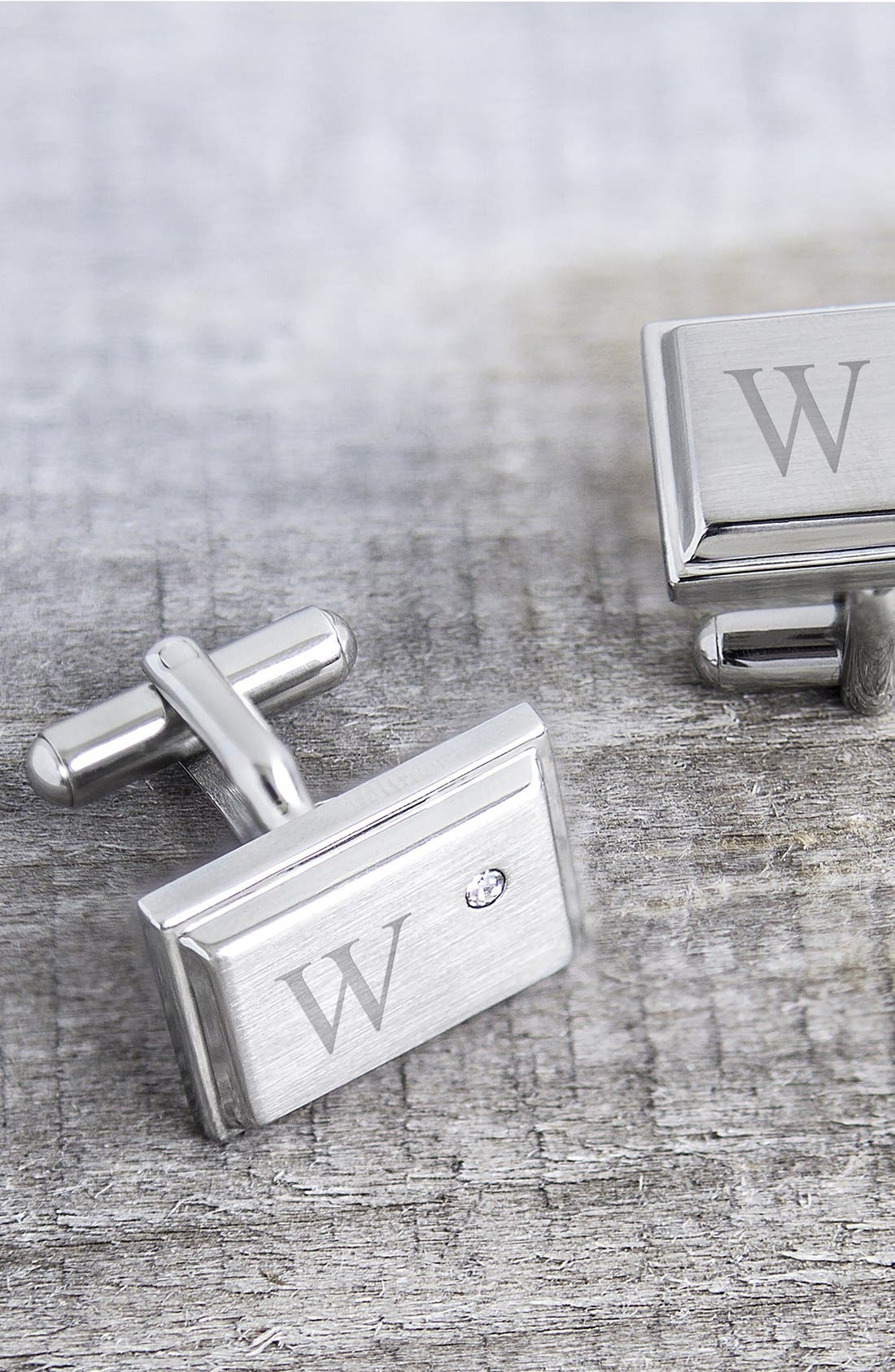 Alternate Image 3  - Cathy's Concepts Monogram Cuff Links
