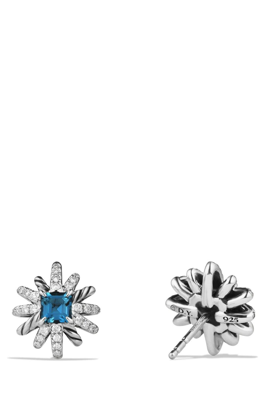 'Starburst' Earrings,                             Alternate thumbnail 2, color,                             Hampton Blue Topaz