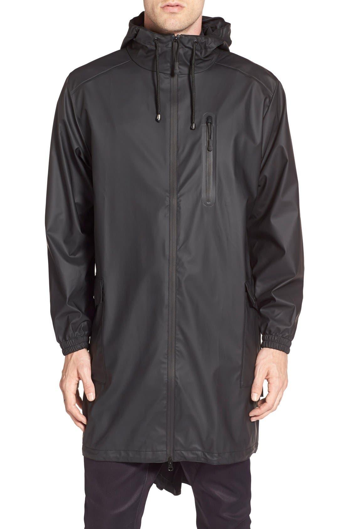 RAINS Waterproof Parka Coat | Nordstrom