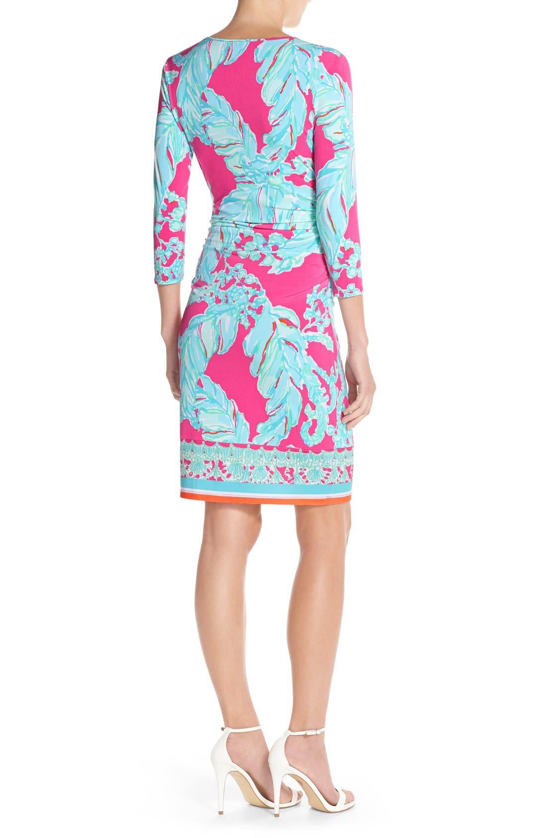Alternate Image 2  - Lilly Pulitzer® 'Madison' Ruched Jersey Sheath Dress