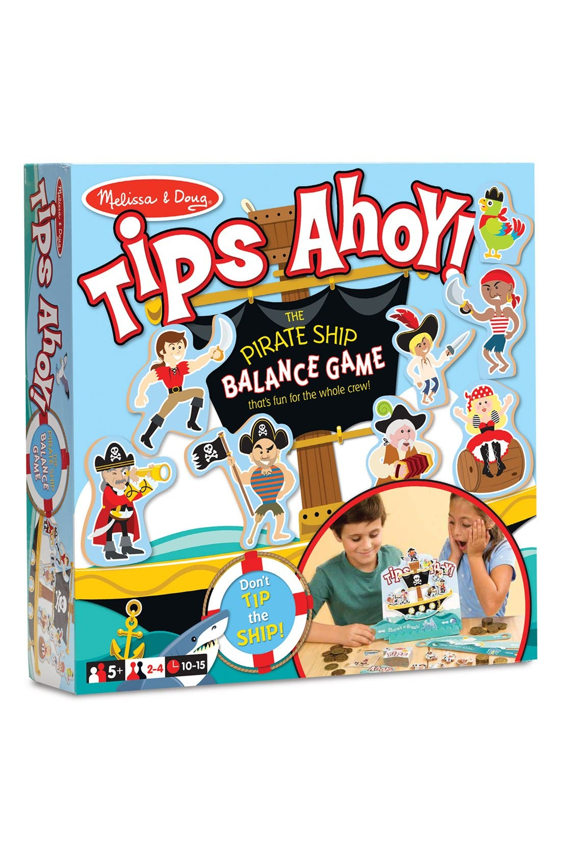 'Tips Ahoy' Game,                         Main,                         color, Blue