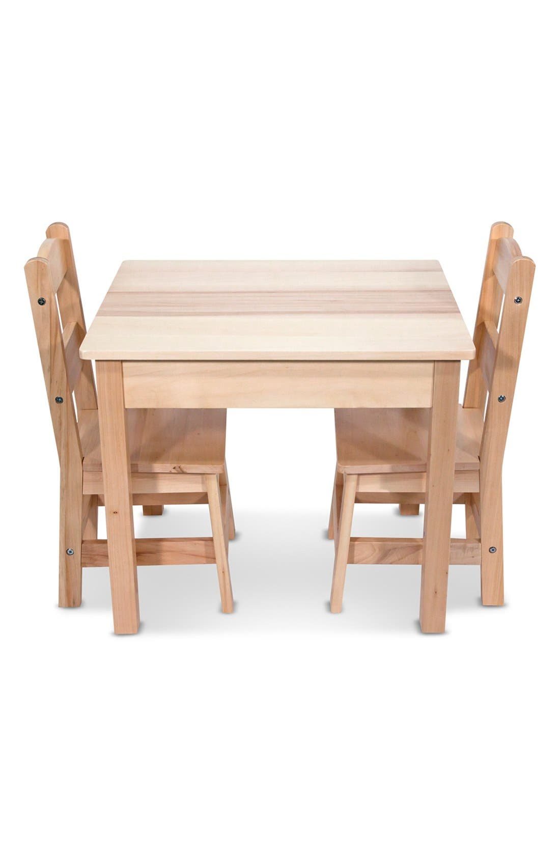 Alternate Image 2  - Melissa & Doug Wooden Table and Chairs Set