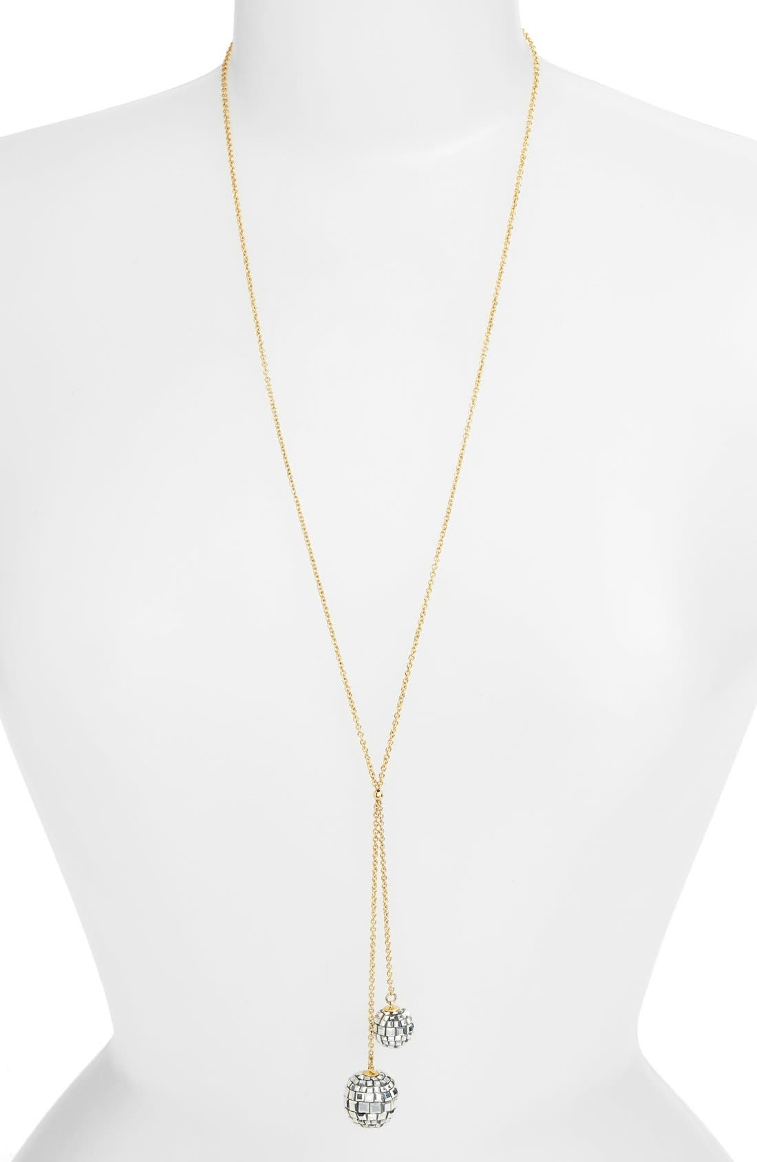 Alternate Image 1 Selected - kate spade new york 'disco fever' long y-necklace