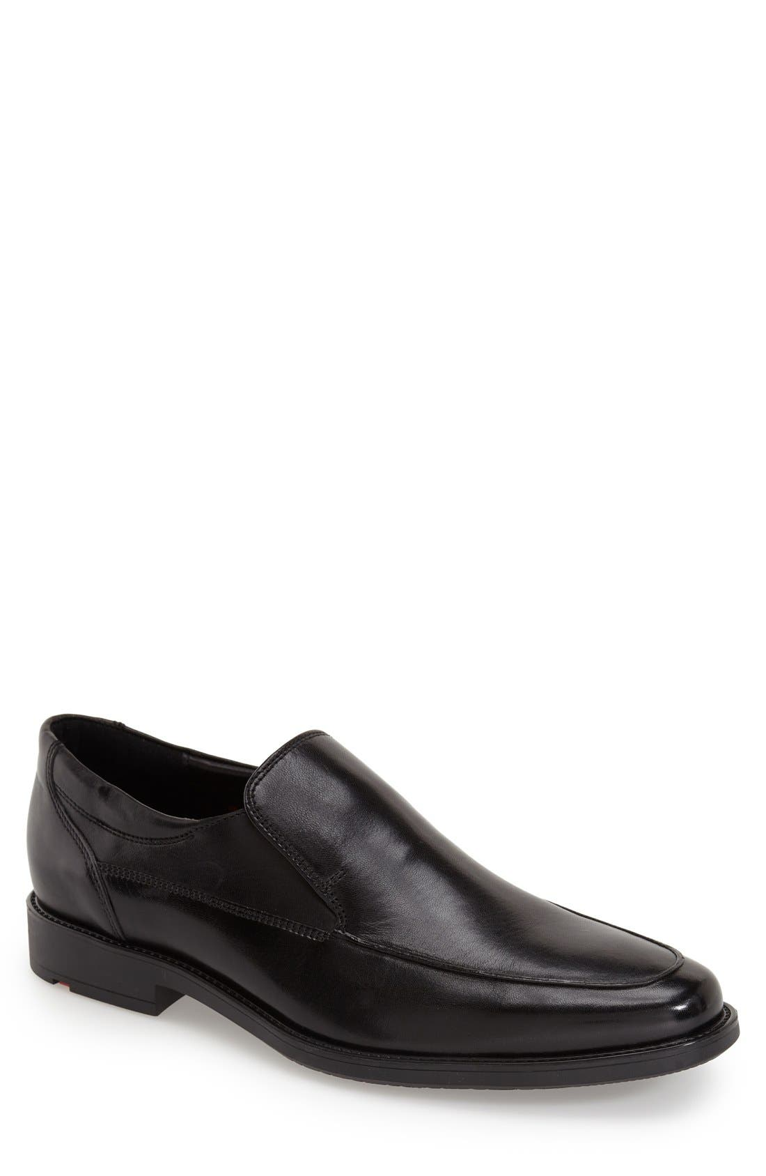 'Nante' Venetian Loafer,                         Main,                         color, Black