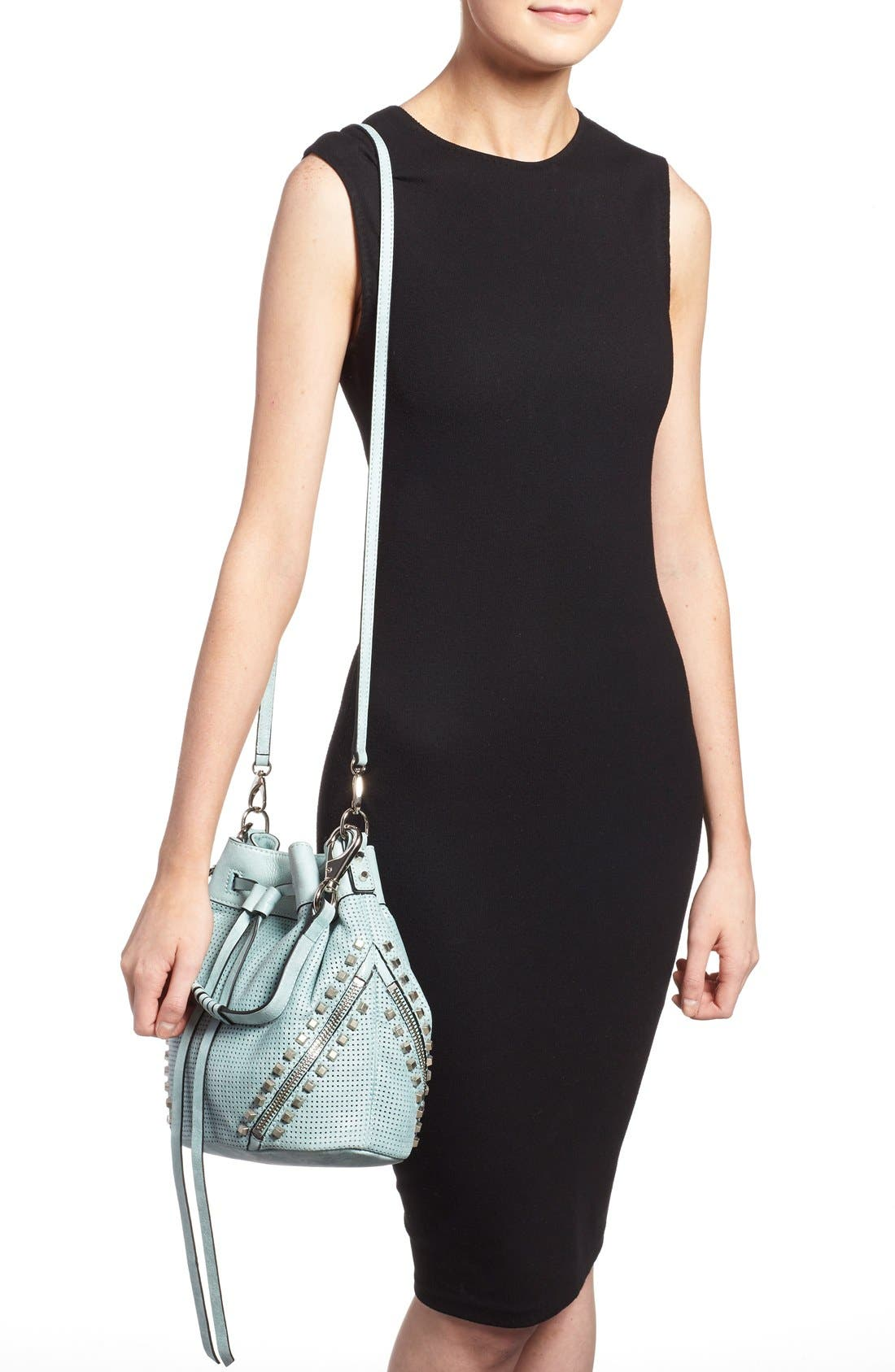 Alternate Image 2  - She + Lo 'Make Your Mark' Leather Bucket Bag