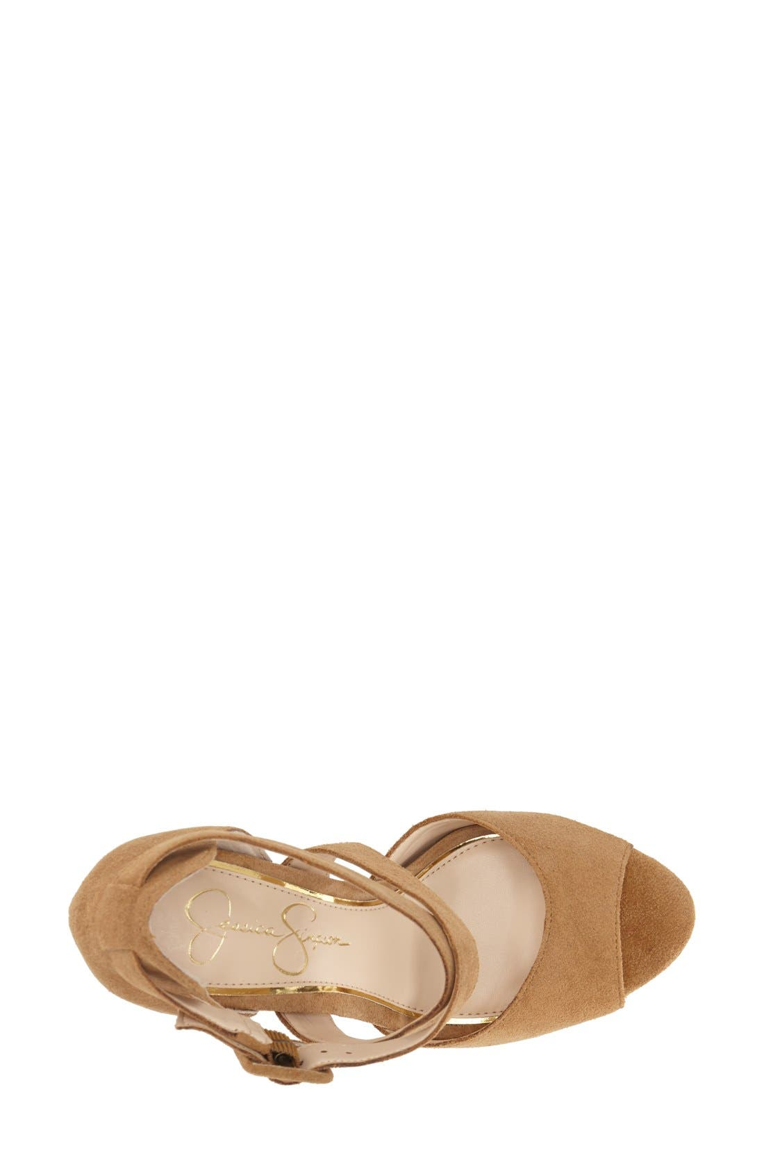 Alternate Image 3  - Jessica Simpson 'Derian' Platform Sandal (Women)