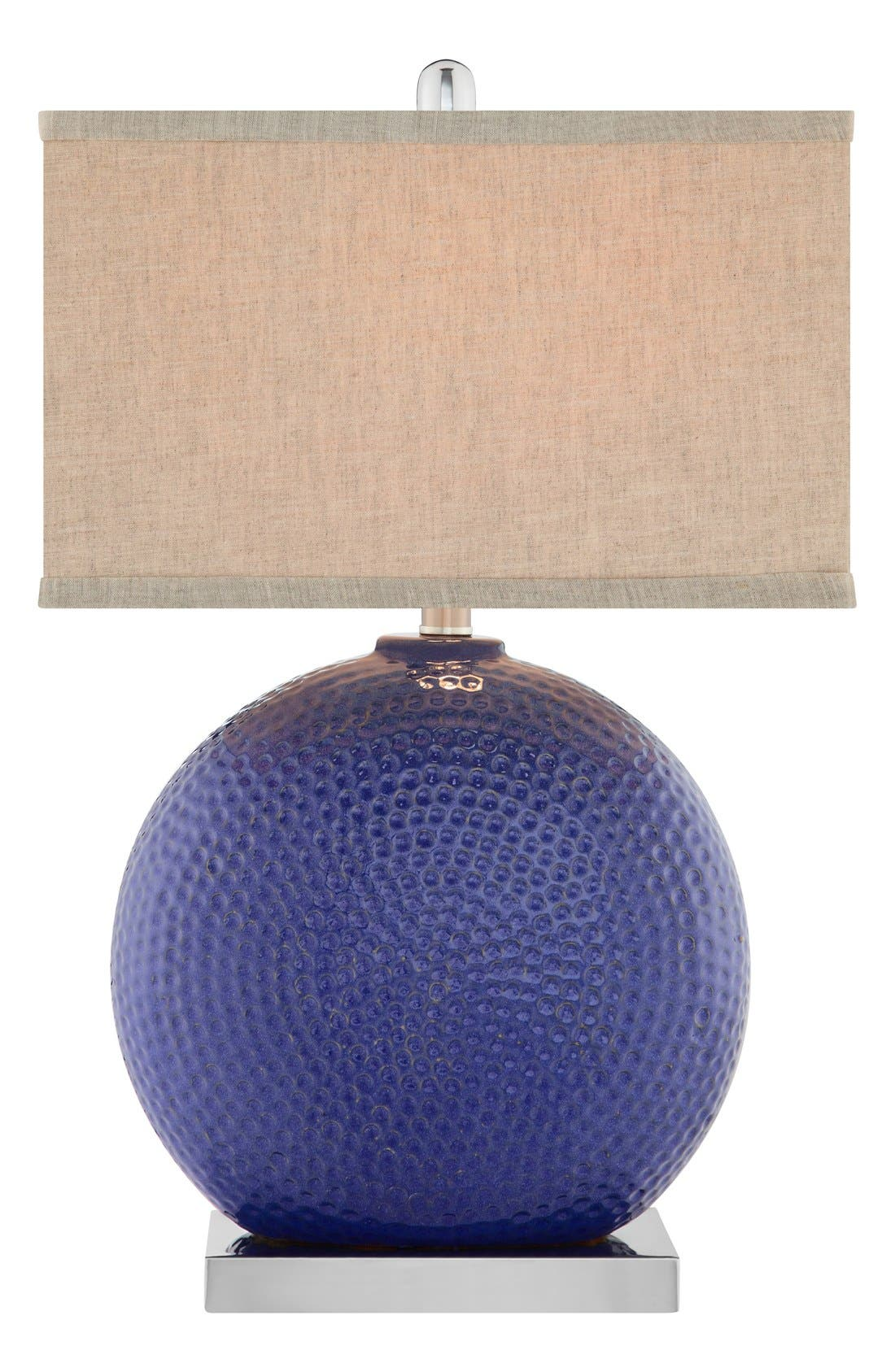 Alternate Image 1 Selected - JAlexander Lighting Dimpled Ceramic Table Lamp
