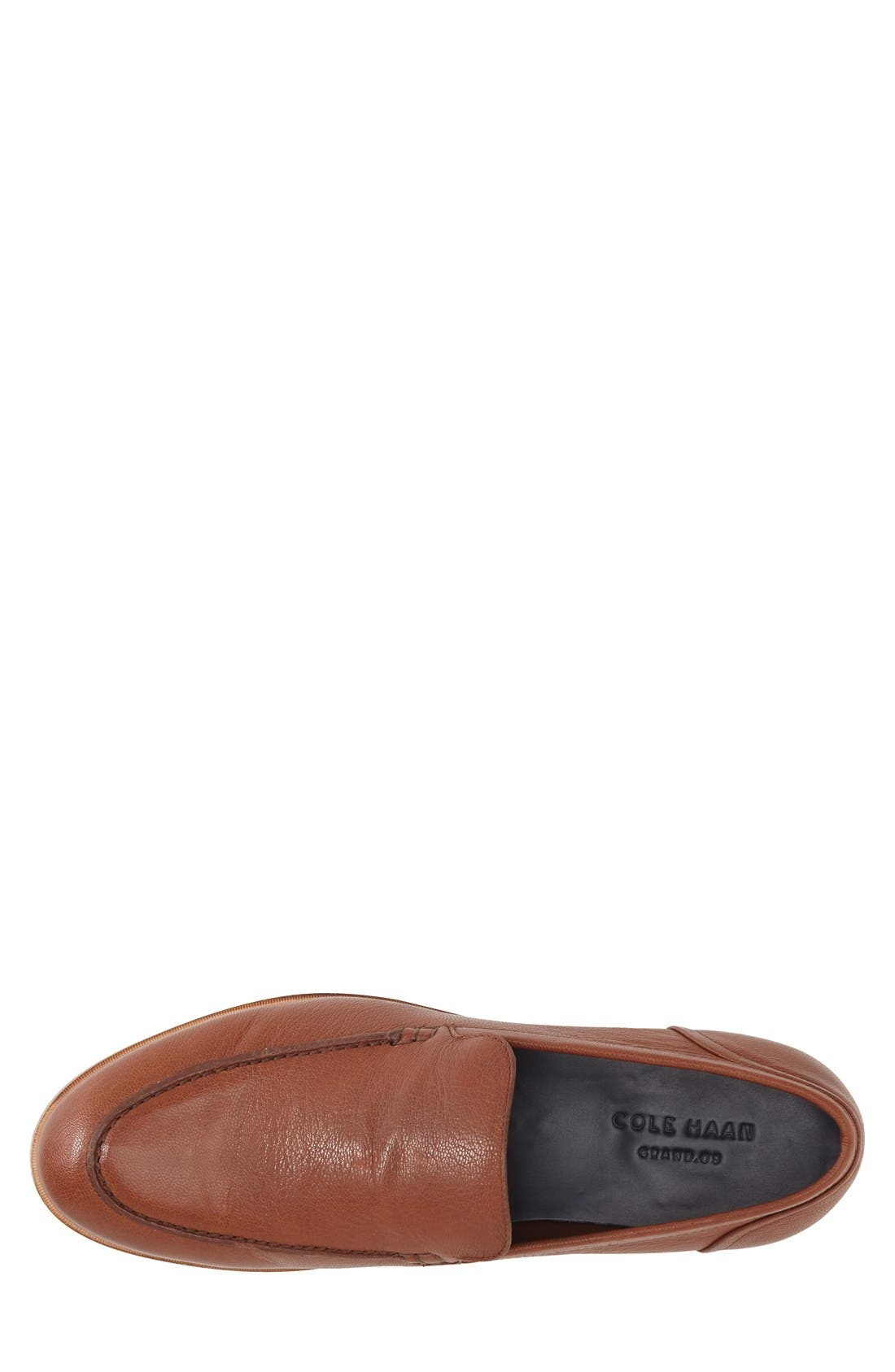 'Bedford' Loafer,                             Alternate thumbnail 3, color,                             Sequoia Brown