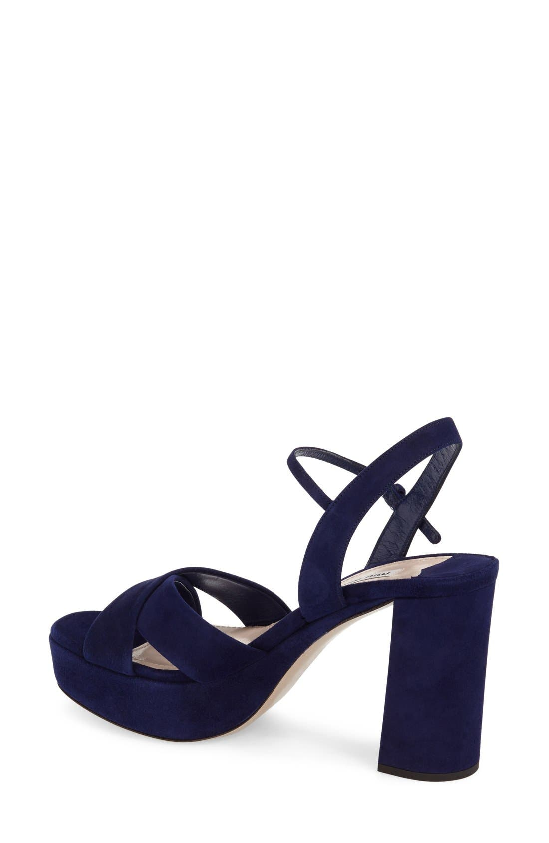 Alternate Image 2  - Miu Miu Platform Sandal (Women)