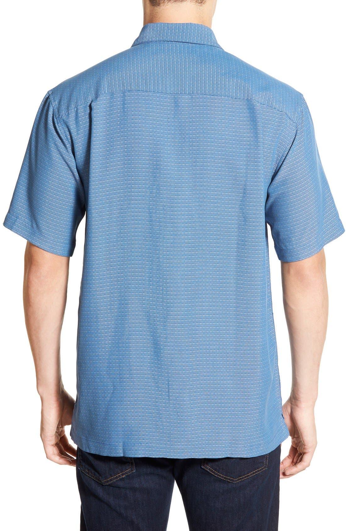 'Wind N Sea' Regular Fit Sport Shirt,                             Alternate thumbnail 2, color,                             Navy