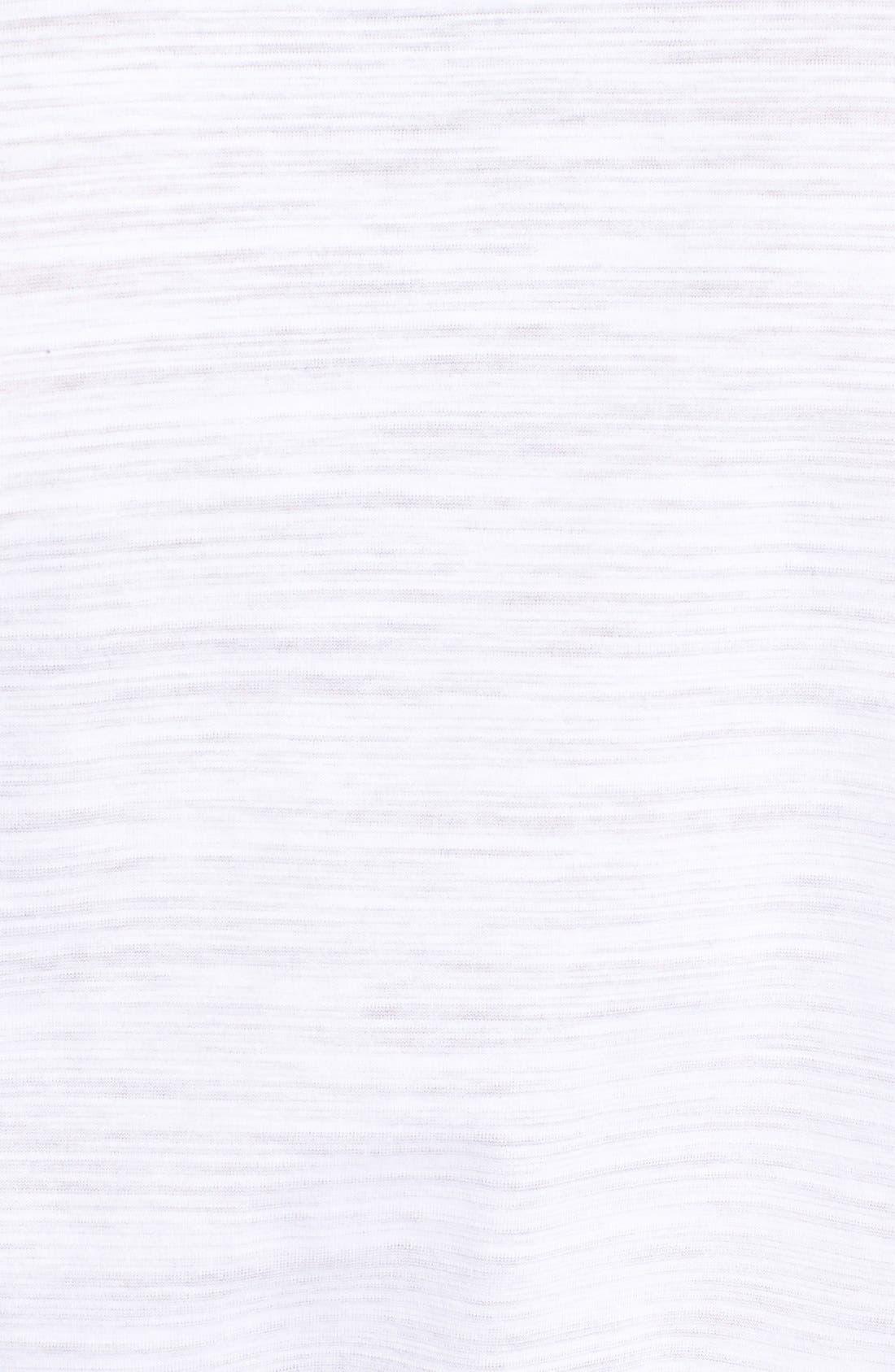 'Tyson' V-Neck Long Sleeve T-Shirt,                             Alternate thumbnail 5, color,                             White