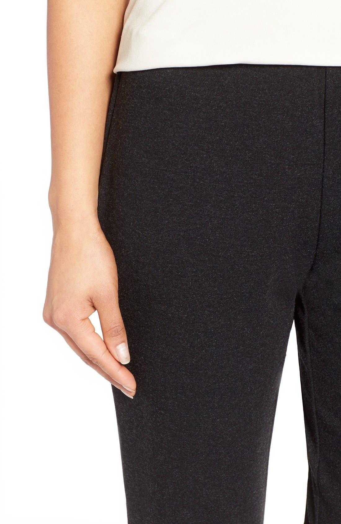 Alternate Image 4  - Eileen Fisher Skinny Ponte Pants (Regular & Petite)