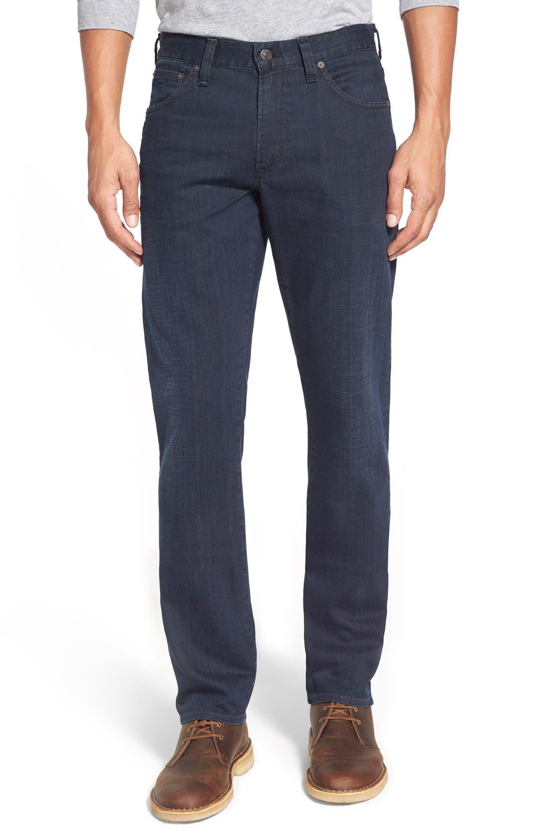 Gage Slim Straight Leg Jeans,                             Main thumbnail 1, color,                             Duvall
