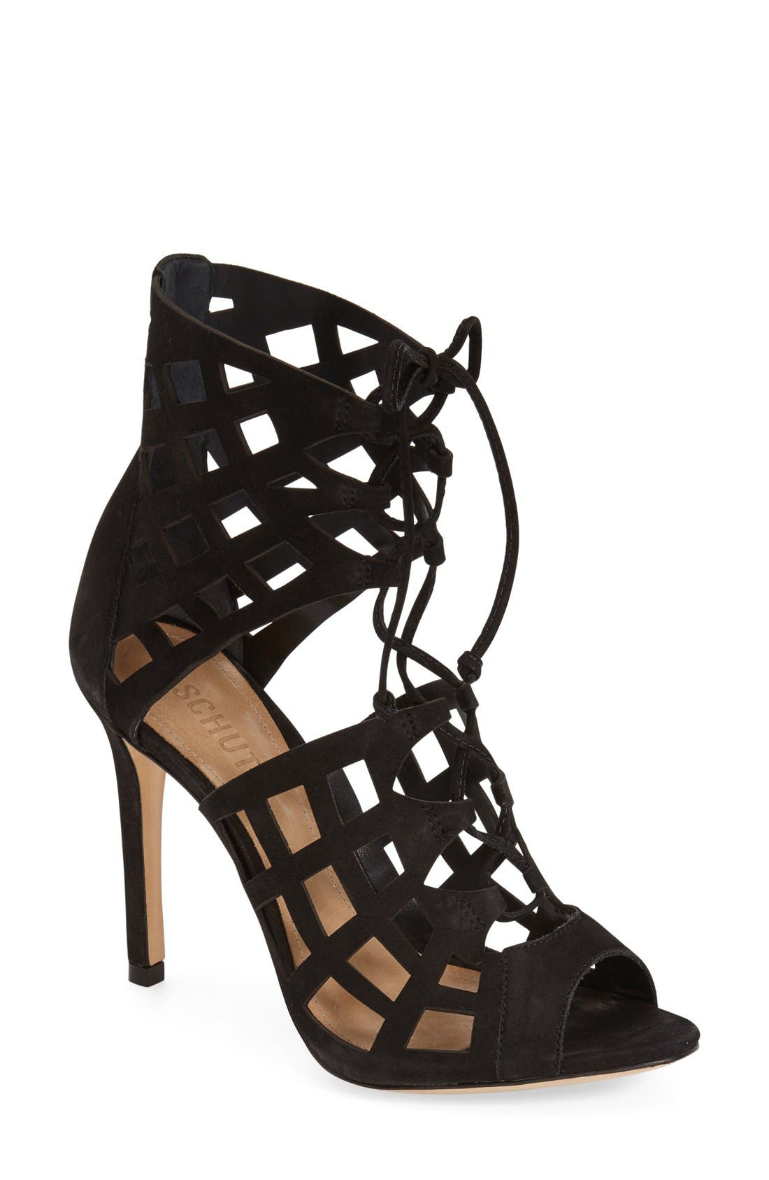 Alternate Image 1 Selected - Schutz 'Blake' Cutout Sandal (Women)