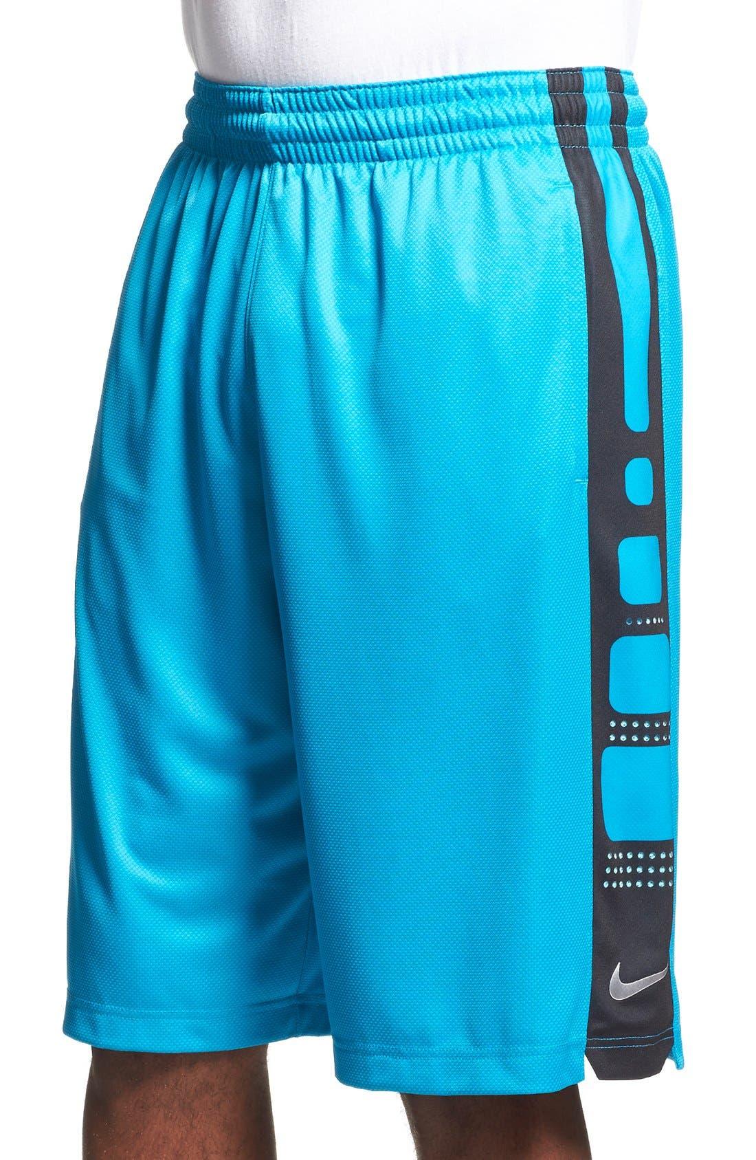 Alternate Image 1 Selected - Nike 'Elite' Knit Basketball Shorts