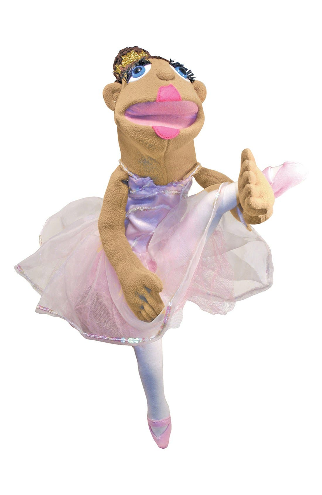 Ballerina Puppet,                             Alternate thumbnail 2, color,                             Pink