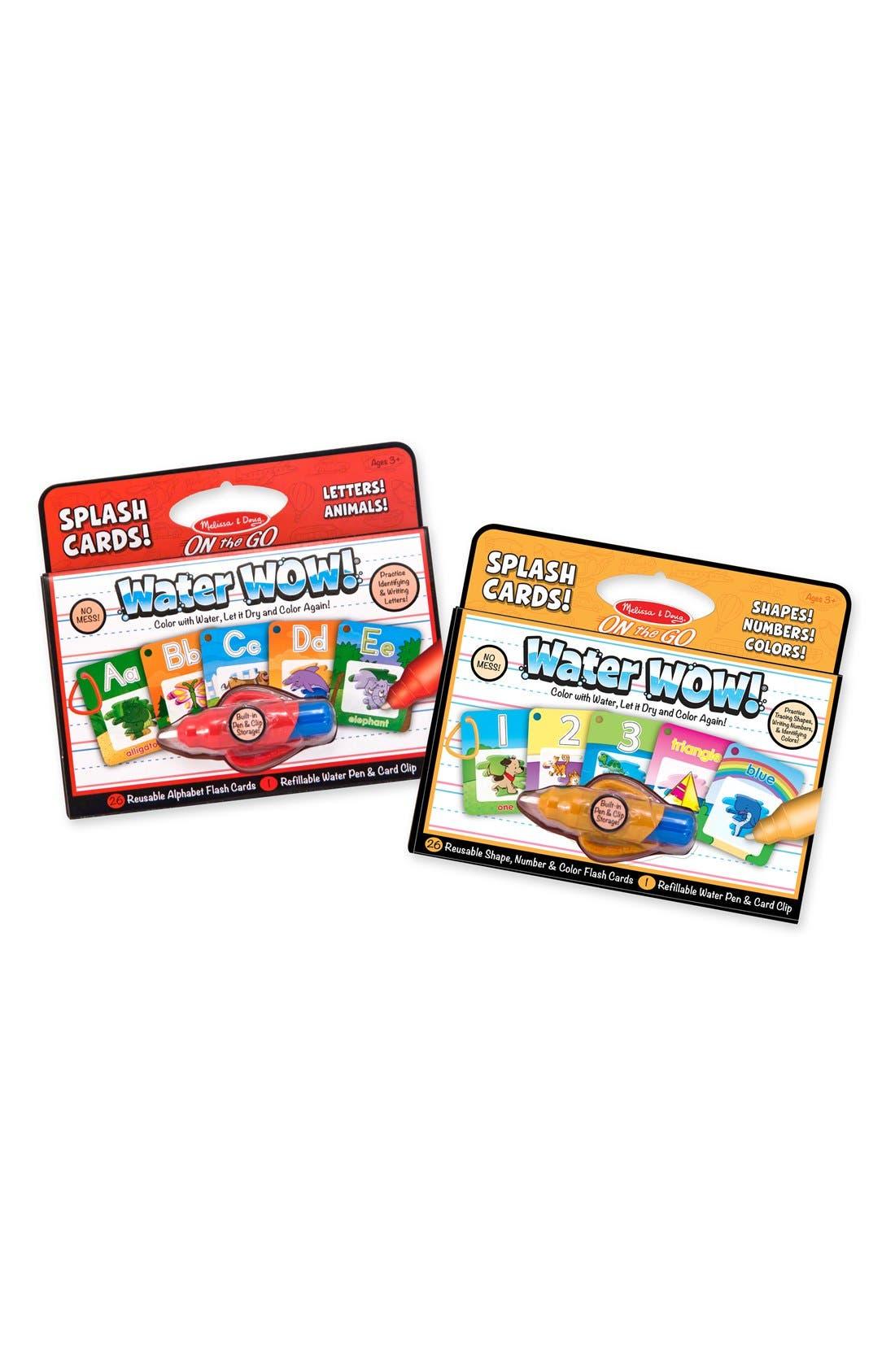 Main Image - Melissa & Doug 'Water WOW!' Splash Cards Set
