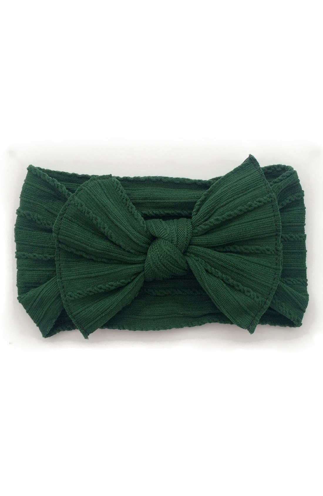 Main Image - Baby Bling Bow Headband (Baby)