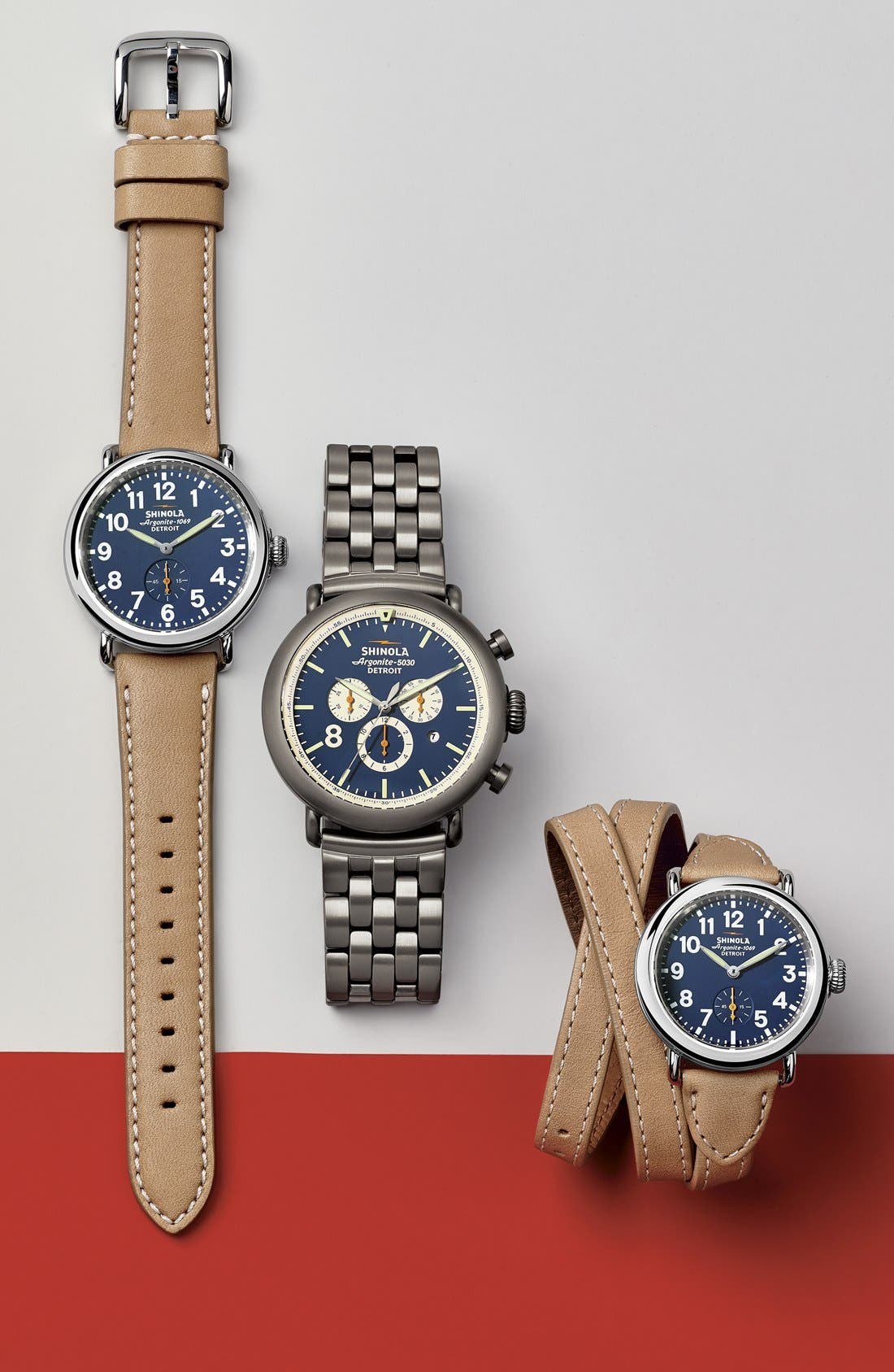 Alternate Image 9  - Shinola 'The Runwell Contrast Chrono' Bracelet Watch, 47mm