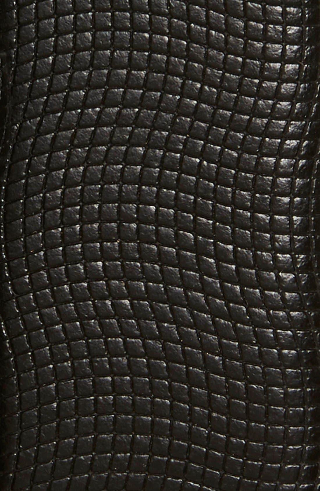 'Perries' Leather Belt,                             Alternate thumbnail 2, color,                             Black