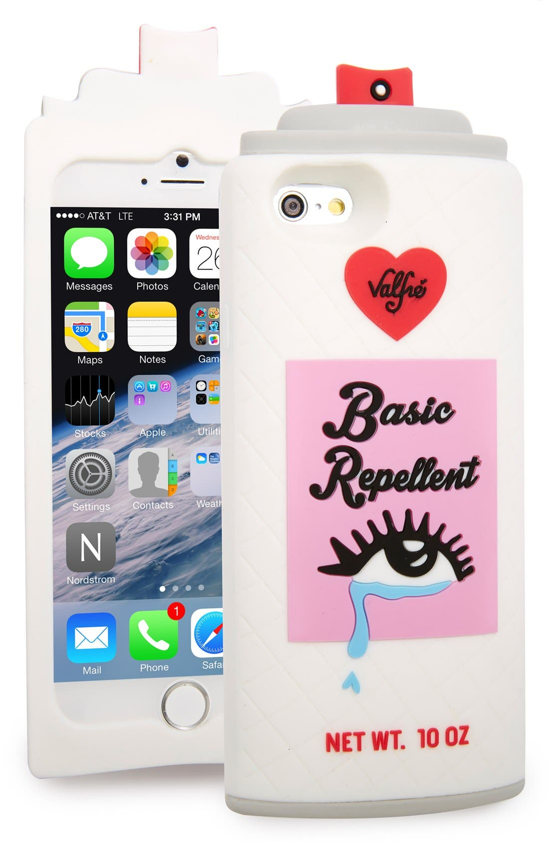 Alternate Image 1 Selected - Valfré 'Basic Repellent' iPhone 6s & 6s Plus Case