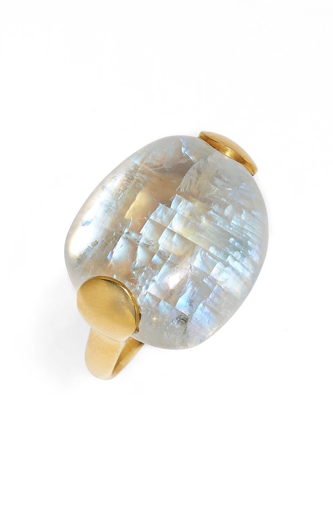Alternate Image 1 Selected - Pippa Small Rainbow Moonstone Ring