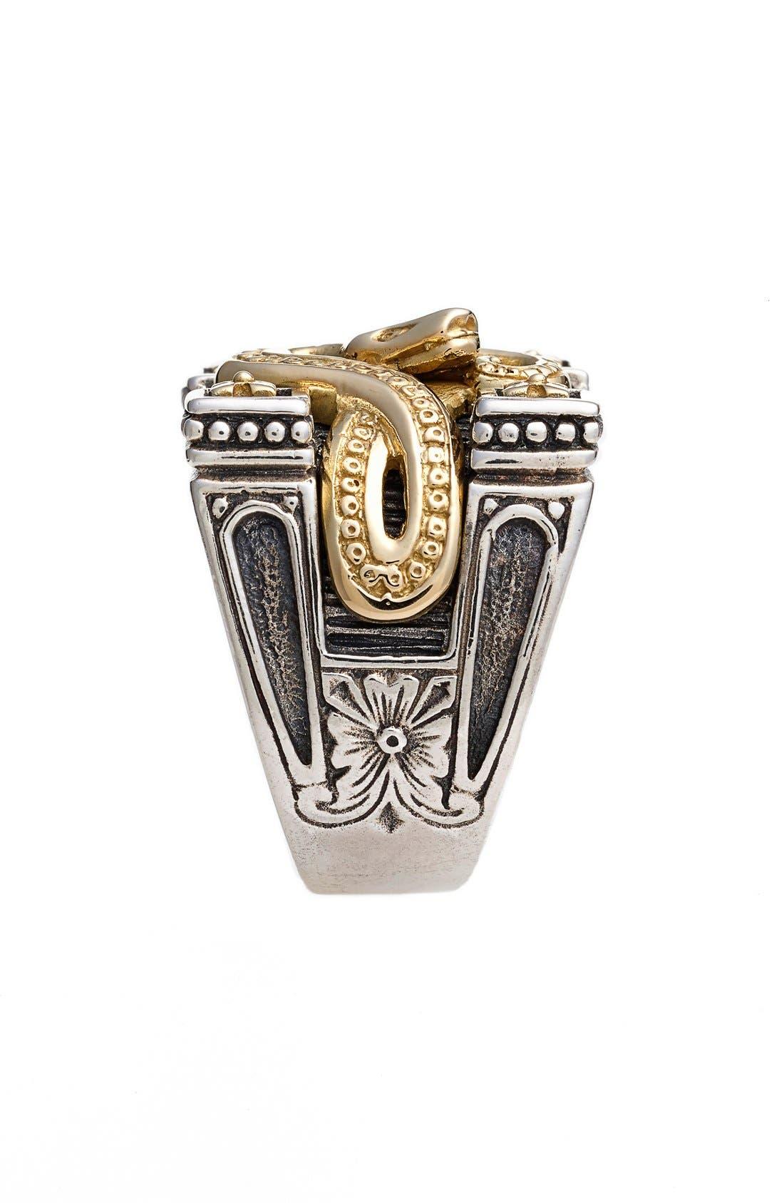 Alternate Image 2  - Konstantino 'Minos' Carved Serpent Ring