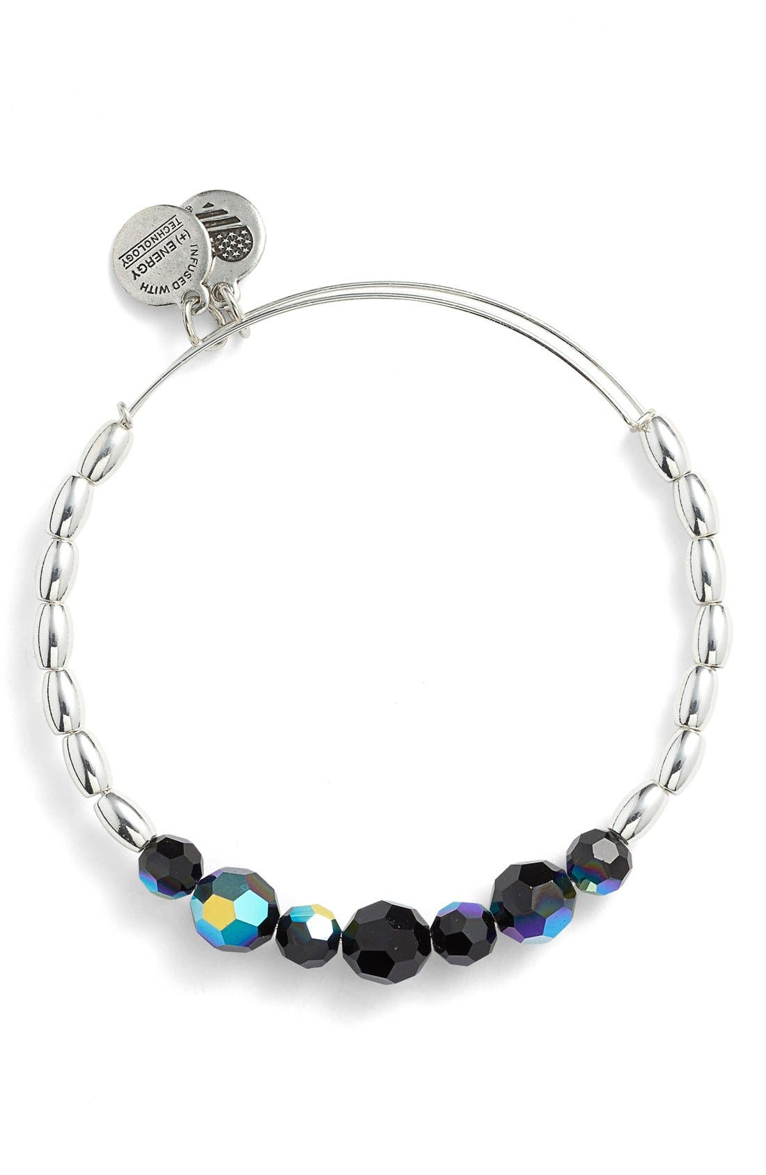 Alternate Image 1 Selected - Alex and Ani Beaded Expandable Wire Bracelet (Nordstrom Exclusive)