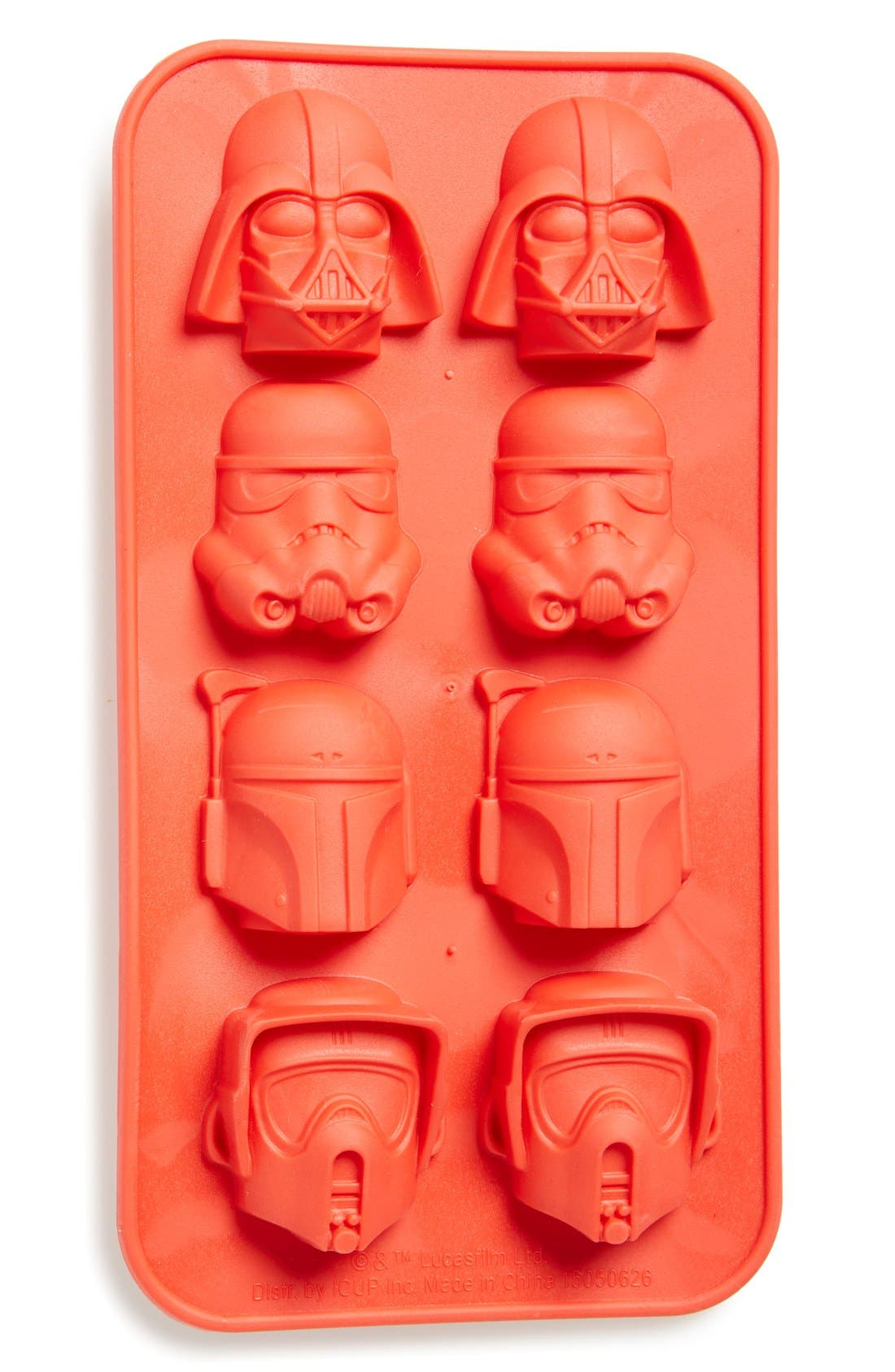 Alternate Image 1 Selected - DC Comics 'Star Wars™ - Helmets of the Dark Side' Rubber Ice Cube Tray
