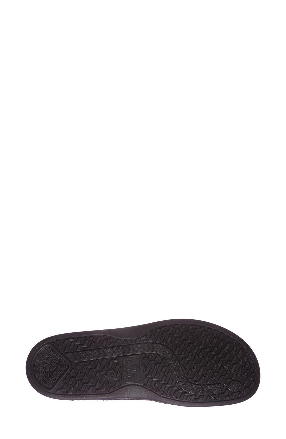 'Metz' Oxford,                             Alternate thumbnail 4, color,                             Black Leather