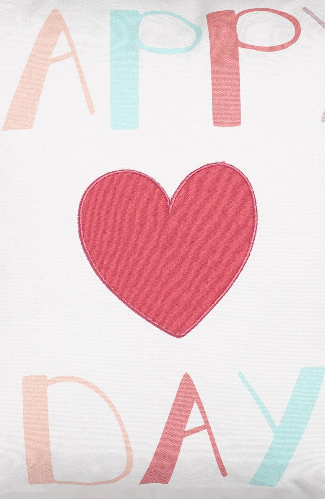 Alternate Image 3  - Levtex 'Happy Day' Pillow