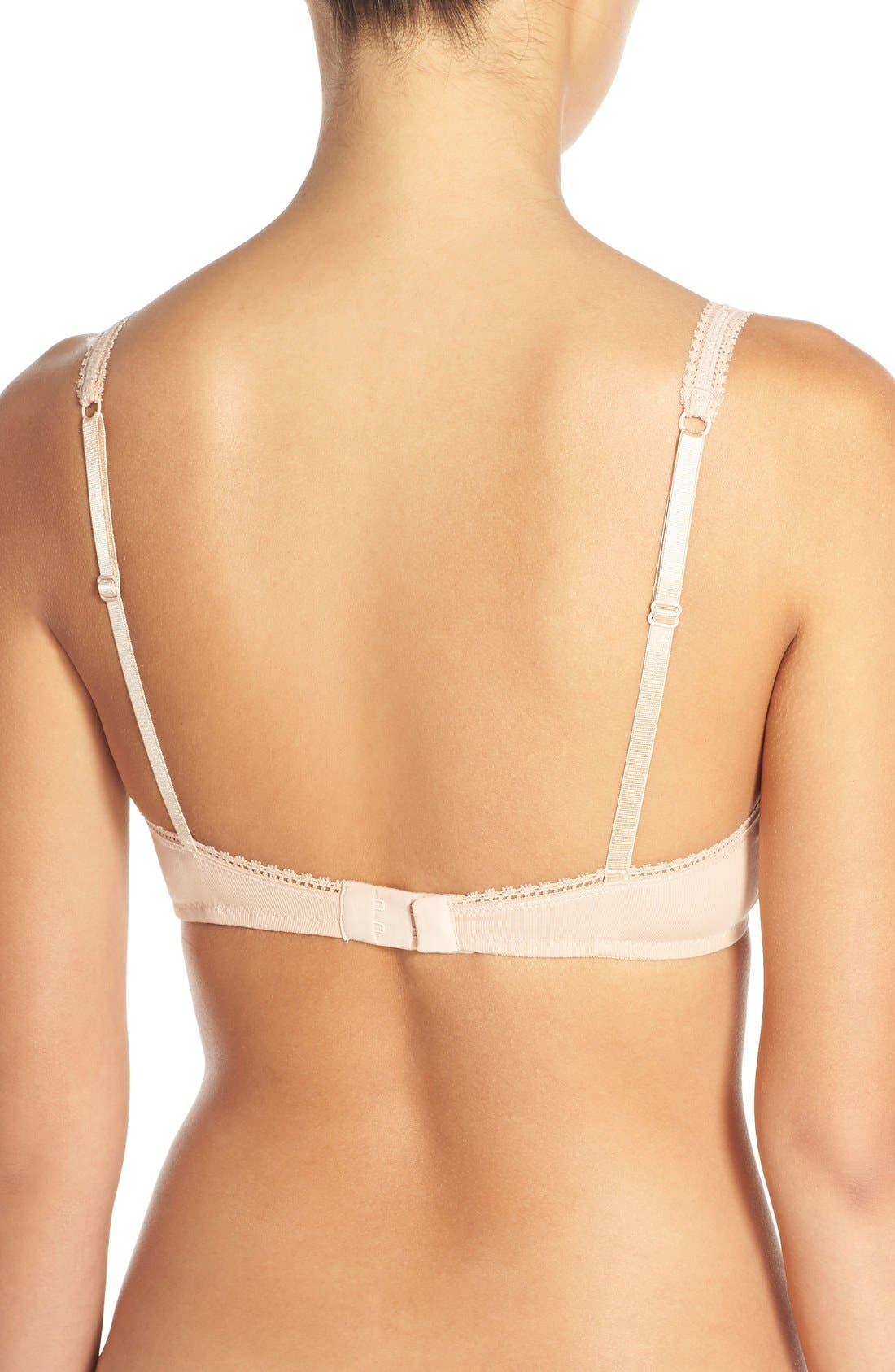 Alternate Image 2  - On Gossamer Stretch Cotton Bralette