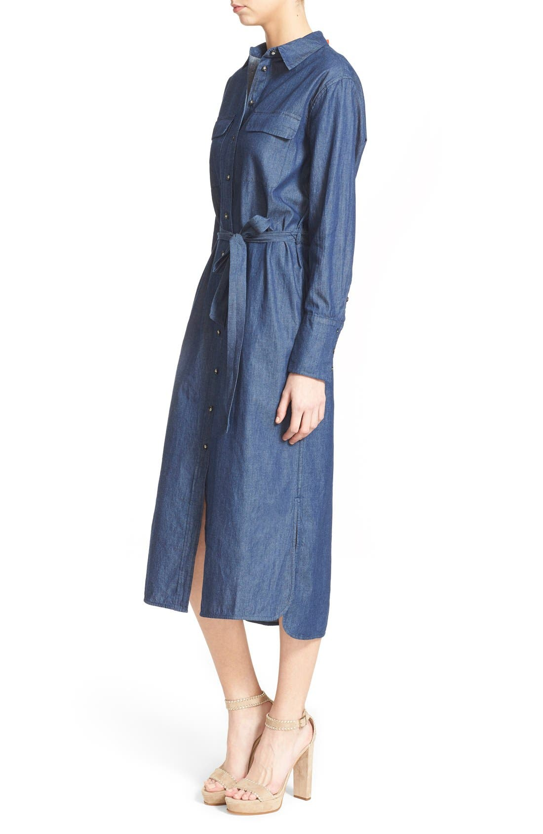 Alternate Image 4  - Equipment 'Delany' Chambray Cotton Shirtdress