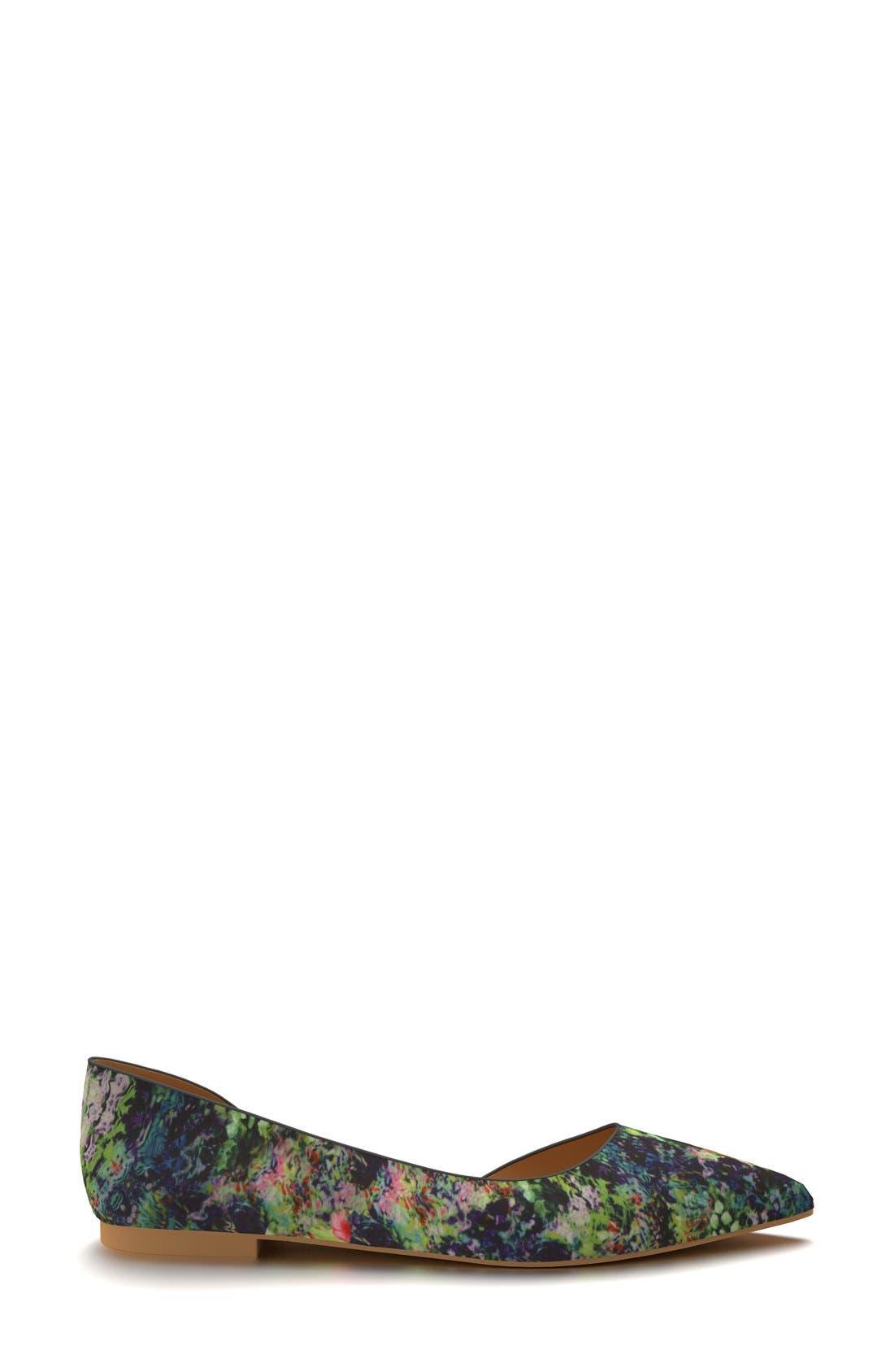 Alternate Image 4  - Shoes of Prey d'Orsay Flat (Women)